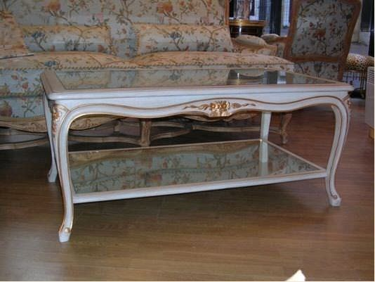 louis xv style coffee table celia
