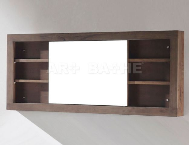 mirrored bathroom wall cabinet - mc68 sa/ch - artbathe
