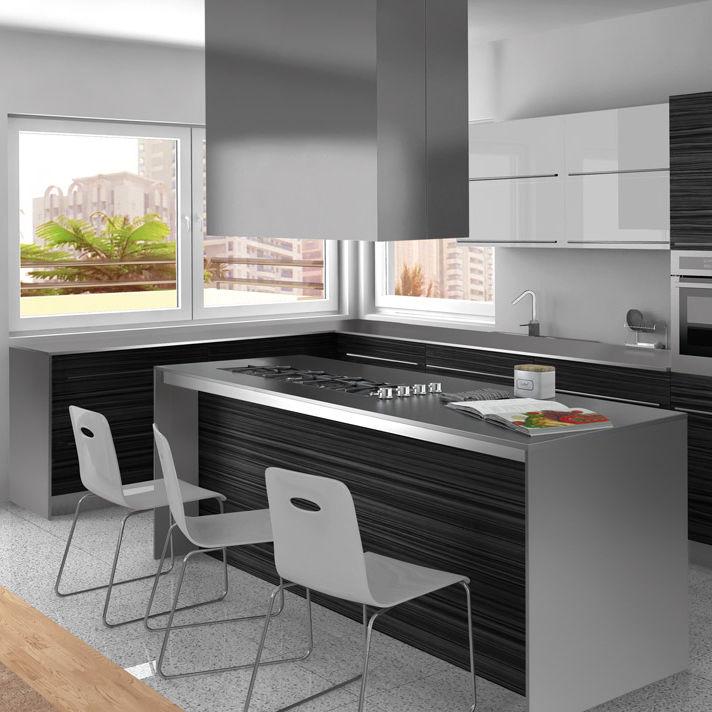 island kitchen hood mega system range original design low noise square frecan