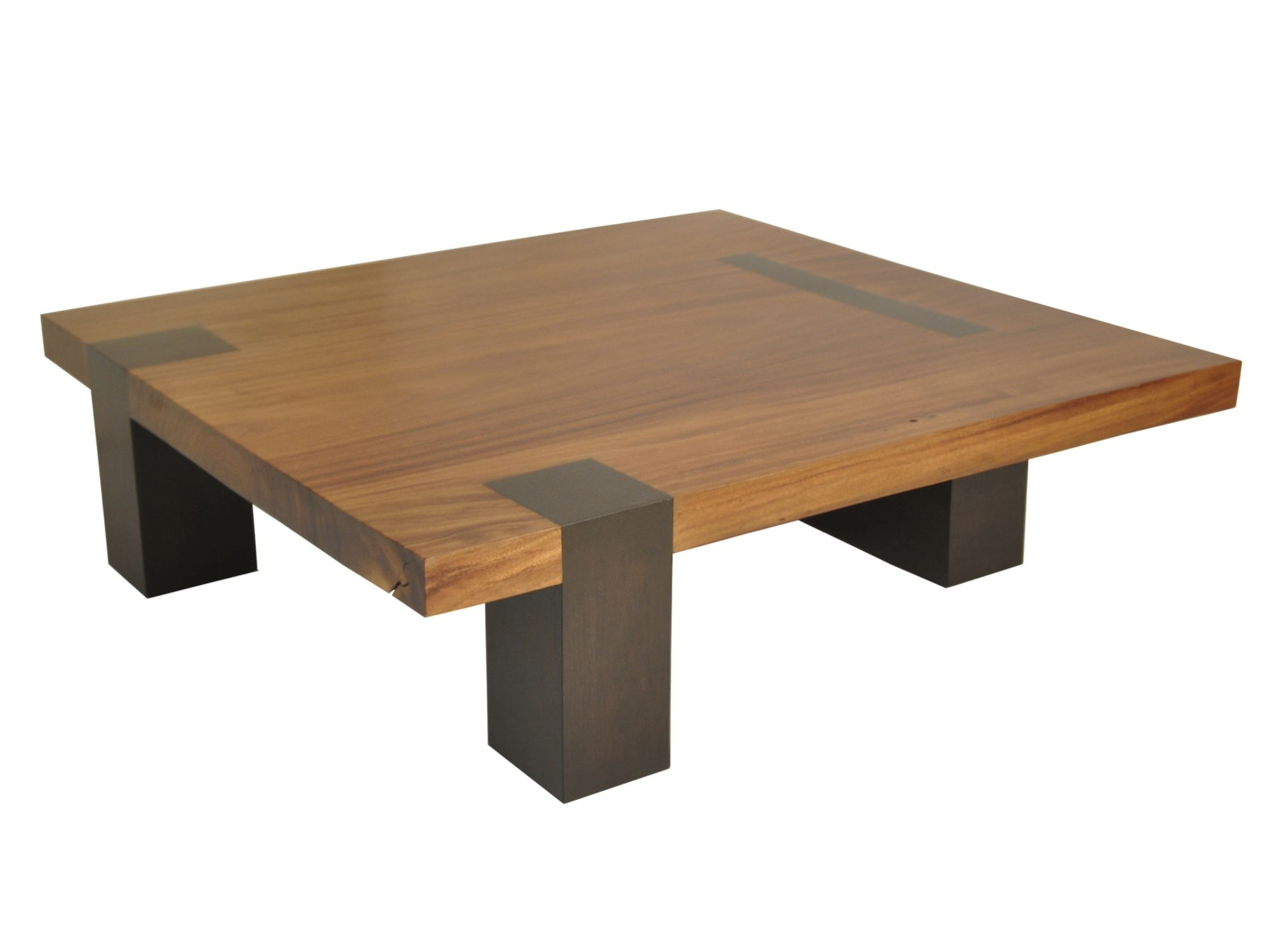 Contemporary Coffee Table Square Tamburil Rotsen Furniture Wooden Square In Reclaimed Material