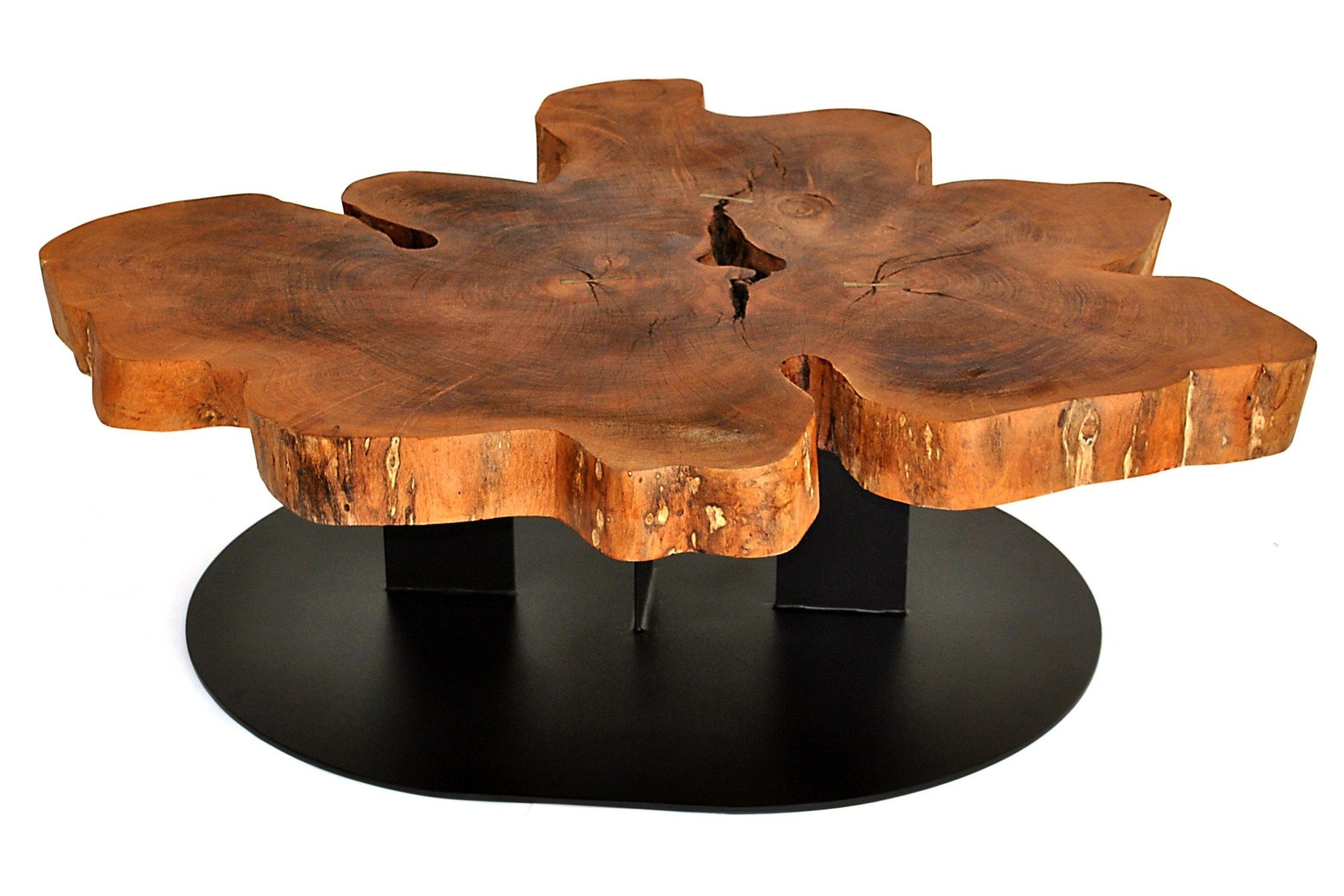 contemporary coffee table live edge