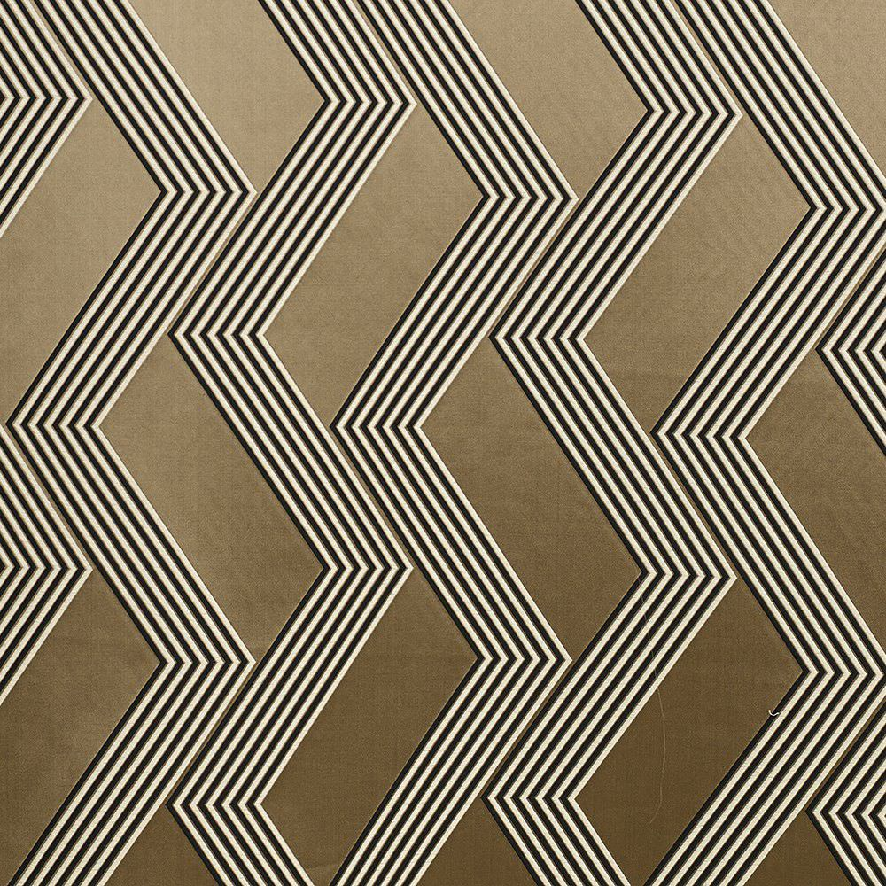 Curtain Fabric Geometric Pattern Silk Polyester FUNKY