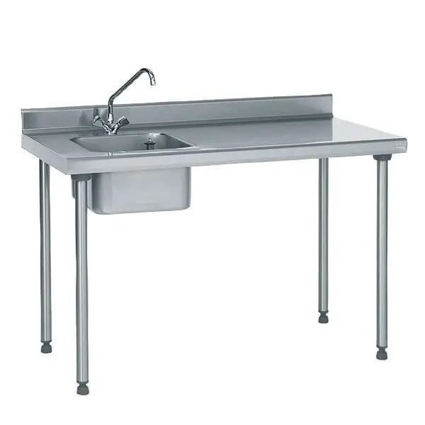 stainless steel prep table tournus
