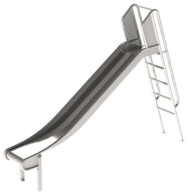 Sheet Metal Playground Slide