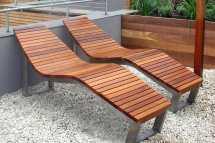 contemporary sun lounger - skop