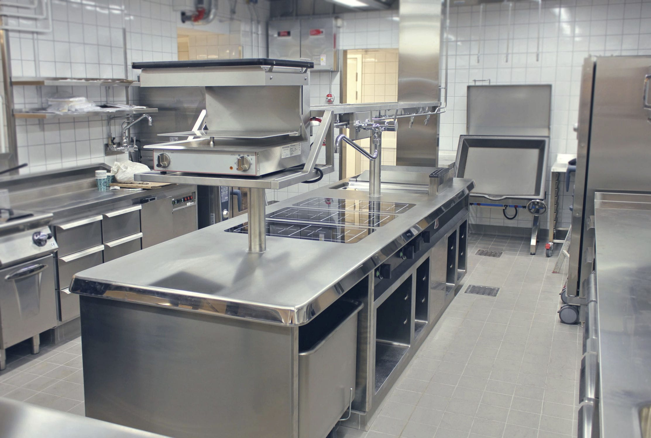stainless kitchen country furniture steel commercial modular berto s p a