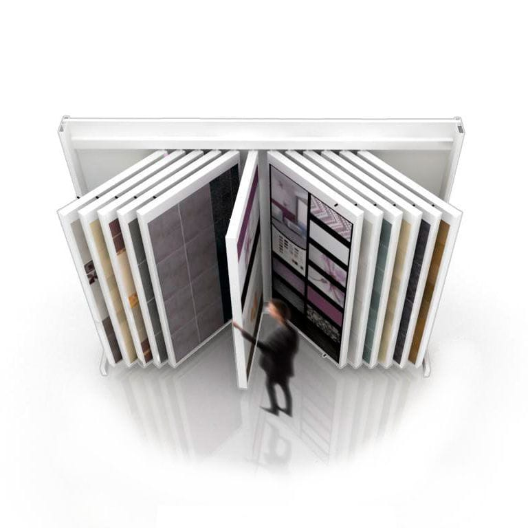 tile display rack book 224 insca