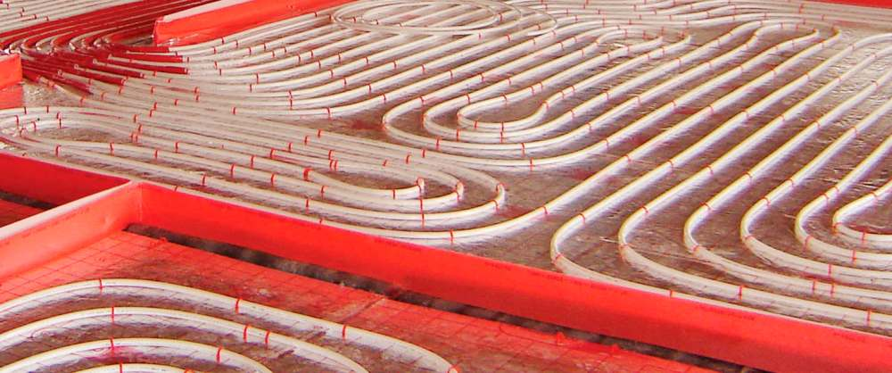medium resolution of hot water underfloor heating residential reversible with acoustic insulation europlus silentium