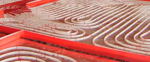 small resolution of hot water underfloor heating residential reversible with acoustic insulation europlus silentium