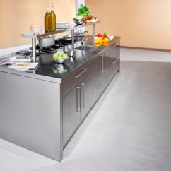 Kitchen Work Station Kitchens With Granite Countertops Contemporary Stainless Steel Island Handles