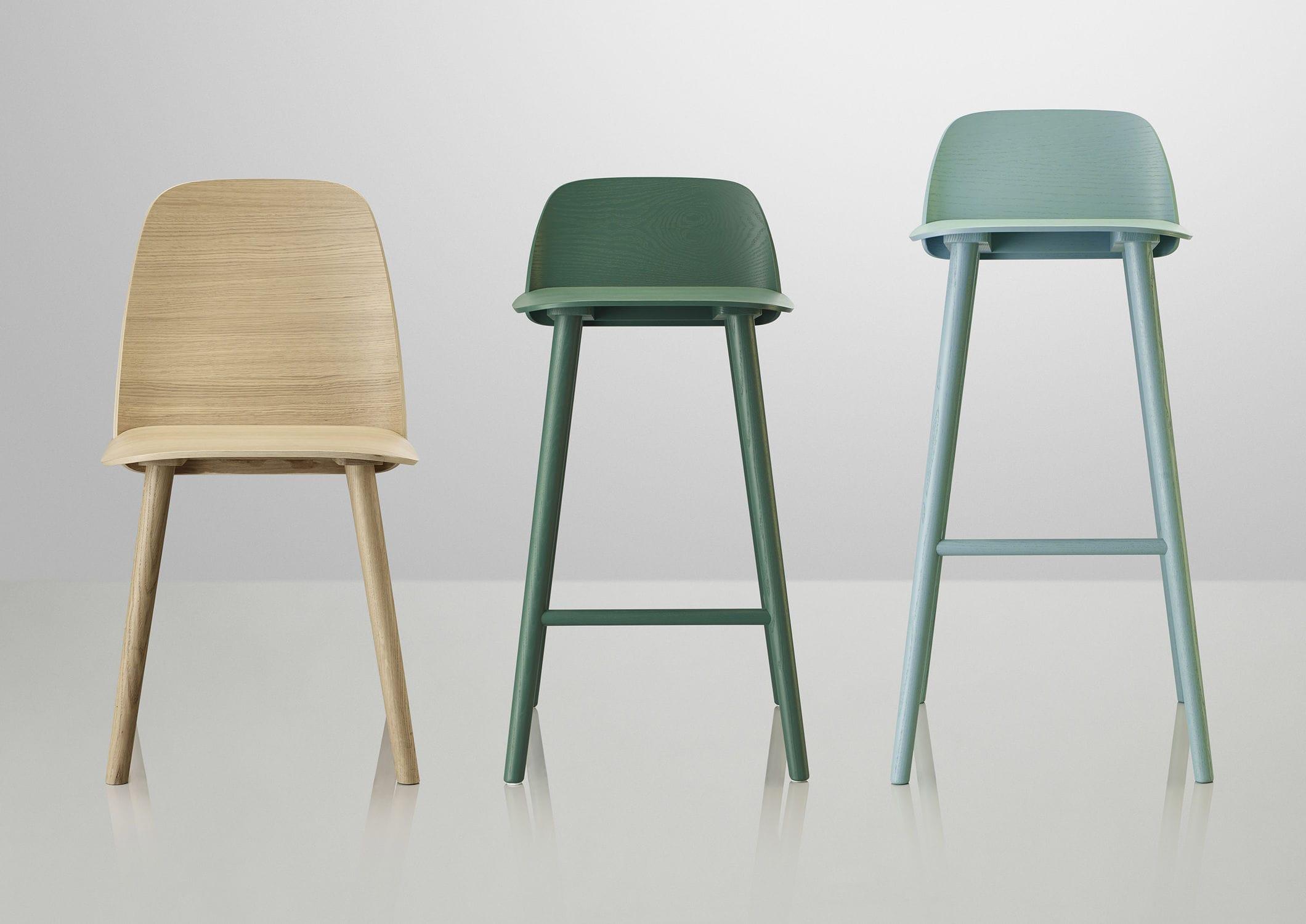 nerd chair muuto office chairs hanoi scandinavian design bar oak ash felt by david