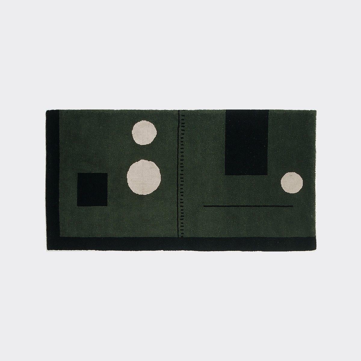 eileen gray rug contemporary patterned wool irish
