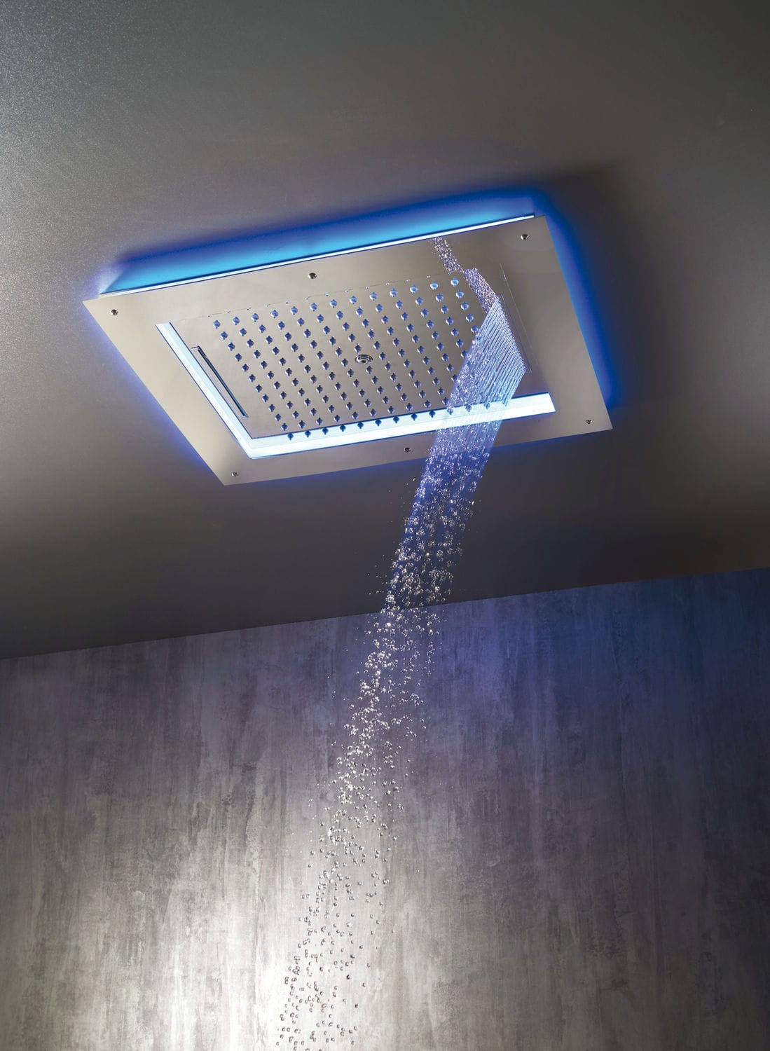 Shower Head With Chromotherapy Ceiling Mounted