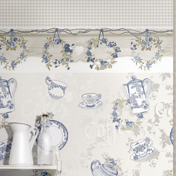 Rapidly affirmed as synonymous with the highest quality of made in italy in the world for the wall covering sector, the cristiana masi brand stands out for. Traditional Wallpaper Fiori Country Parato Pvc Floral Striped