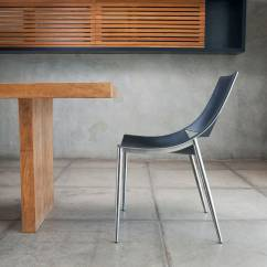 Modloft Dining Chair Childs Table And Set Contemporary Metal Leather Sloane