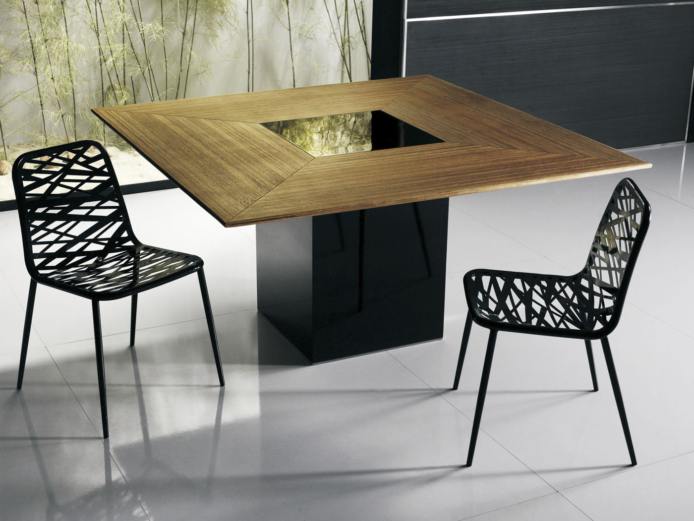 table a manger carree design