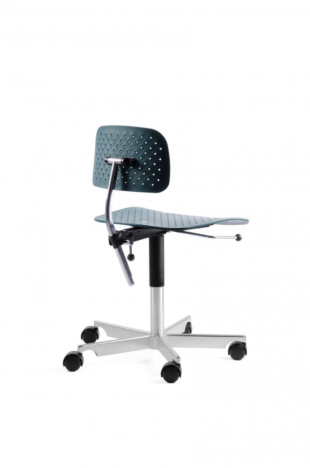 Kevi Chair Contemporary Office Chair On Casters Star Base Upholstered