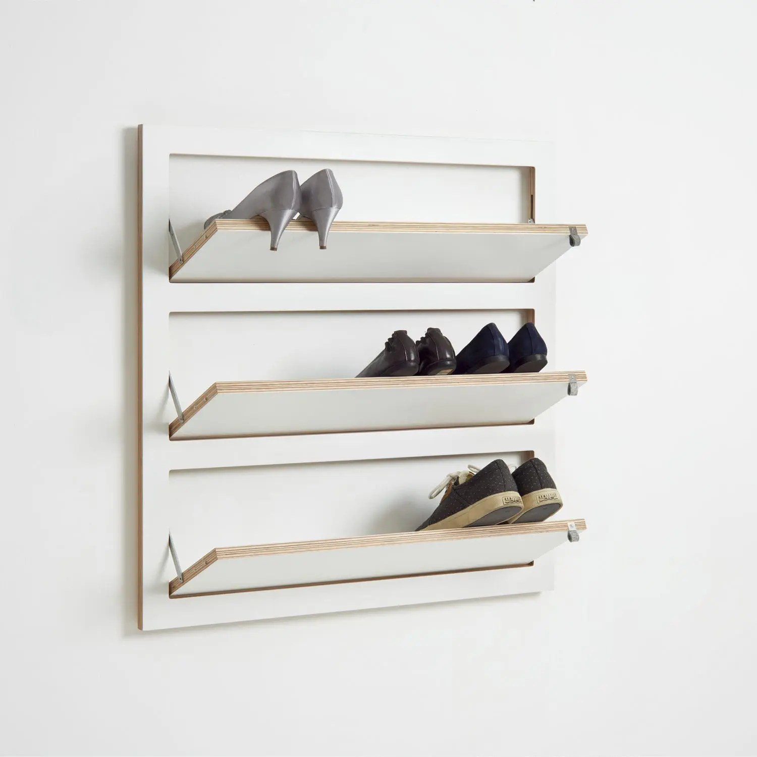 contemporary shoe rack flapps add on