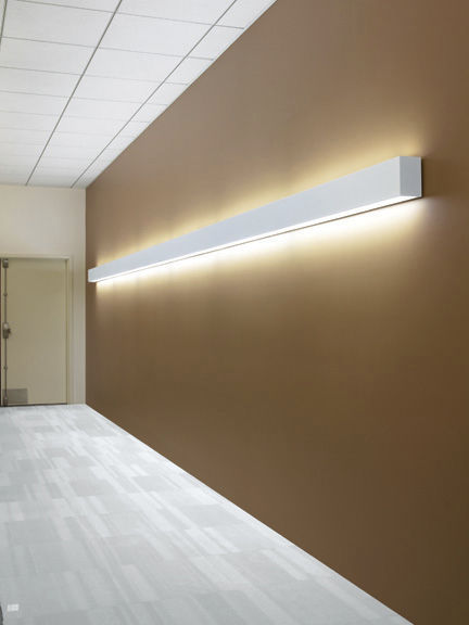 Surface-mounted light fixture - MOD™ : 46 INDIRECT/DIRECT - LiteControl - recessed wall / fluorescent / linear