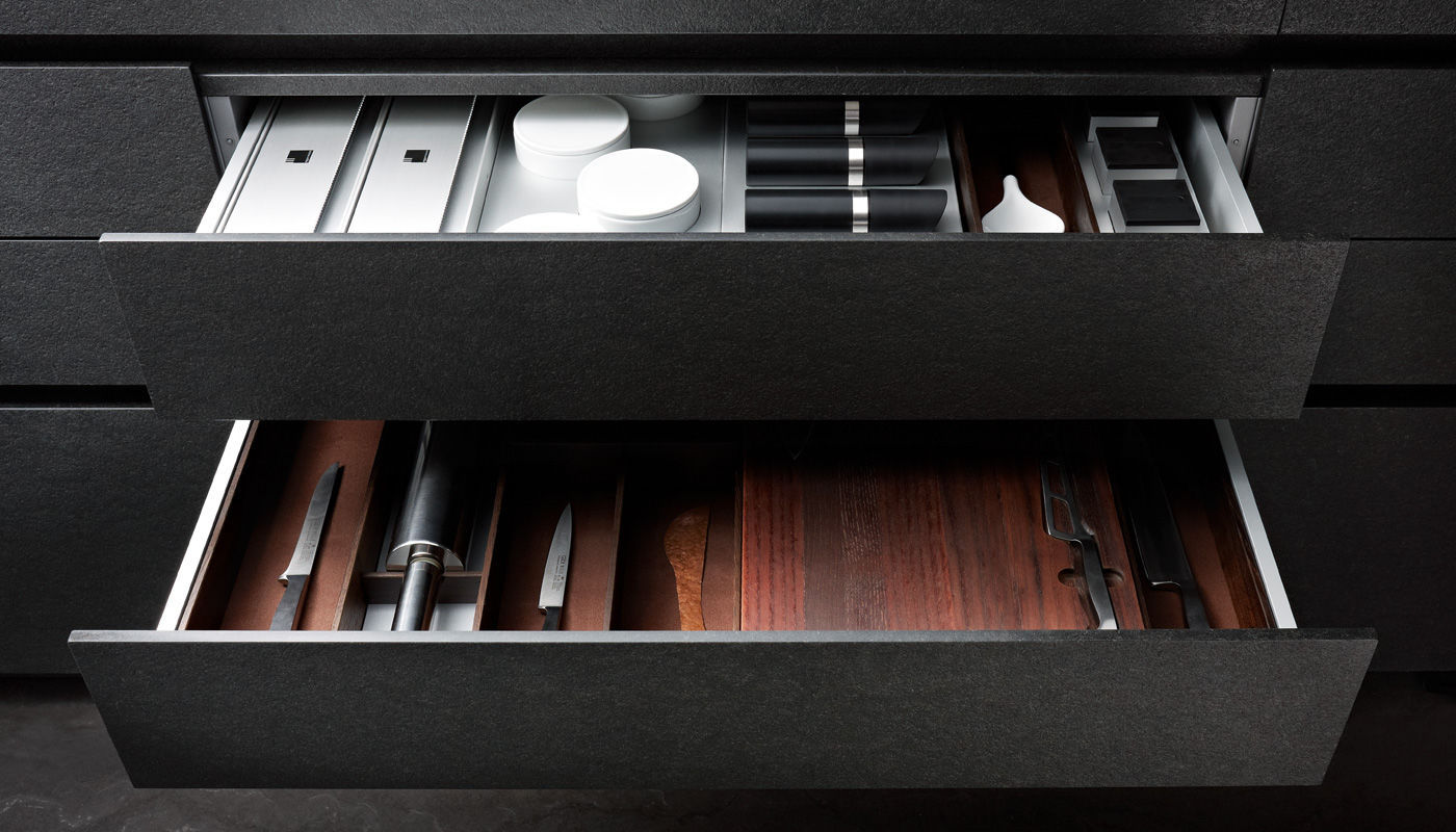 Kuchen Thurm Gmbh Contemporary Kitchen Aluminum Stainless Steel