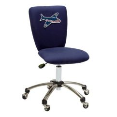 Kids Office Chairs Rebar Lowes Contemporary Chair On Casters Child S Star Base Square