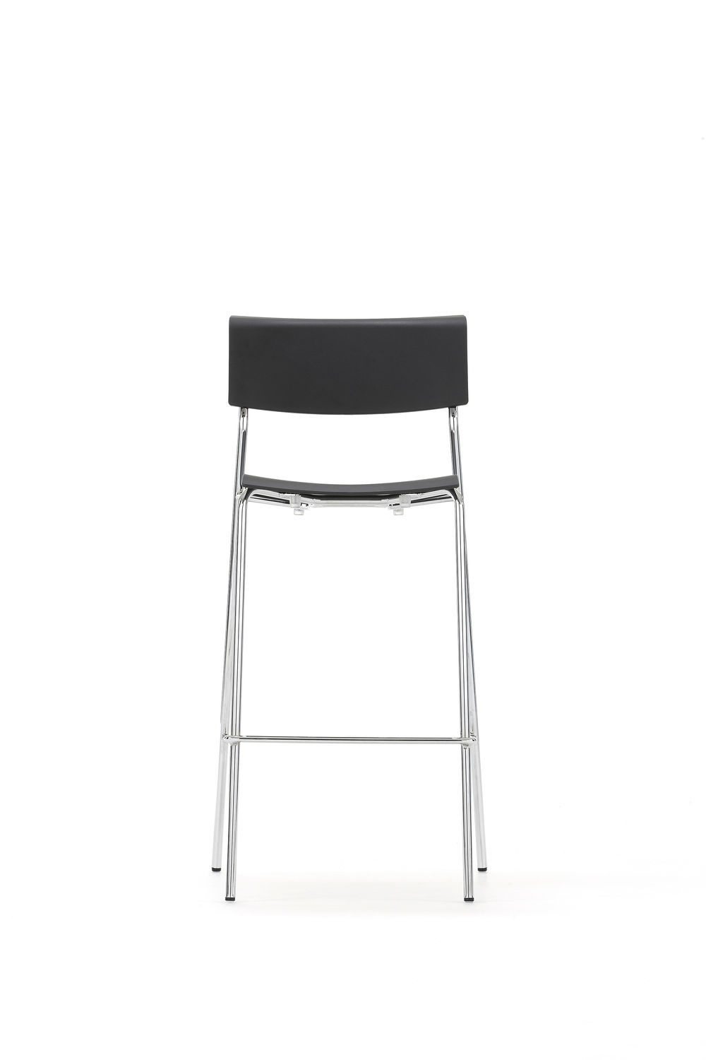 Lip Chair Contemporary Bar Chair With Footrest Steel Plastic Lip By