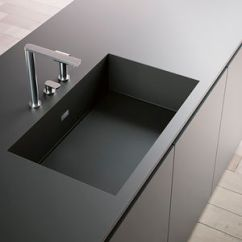 Kitchen Sinks With Drainboard Built In How To Build A Island Seating Sink Fitted Drainer All Single Bowl Composite