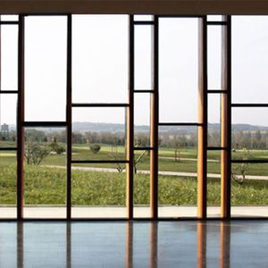 wooden curtain wall all architecture