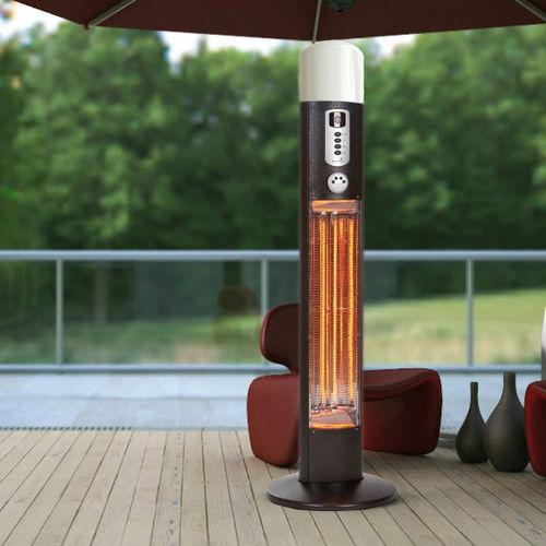 floor mounted infrared patio heater