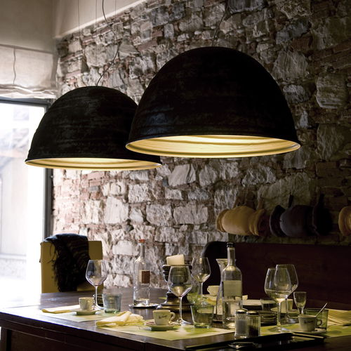 Pendant lamp / original design / aluminum / by Marc Sadler BABELE cod.2040 by Marc Sadler 2005 Martinelli Luce Spa