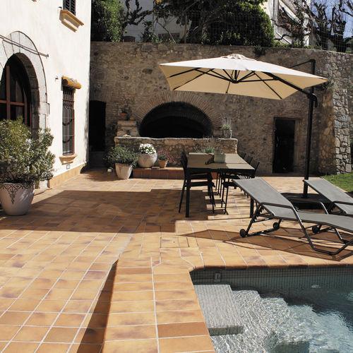 Poolside tile / floor-mounted / ceramic / matte ANTICA GRES de BREDA - Terraklinker