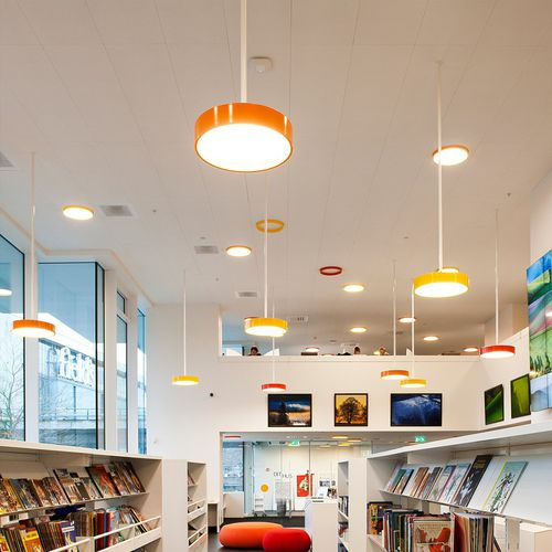 Pendant lamp / contemporary / acrylic / aluminum LP CIRCLE. by Mikkel Beedholm & Khr Arkitekter Louis Poulsen Lighting A/S International