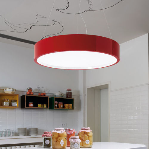 Pendant lamp / contemporary / polyurethane / LED ELEA 85 by 	Joana Bover BOVER Barcelona