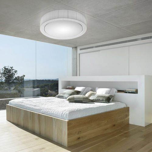 Contemporary ceiling light / round / polyester / crystal URBAN 90  BOVER Barcelona
