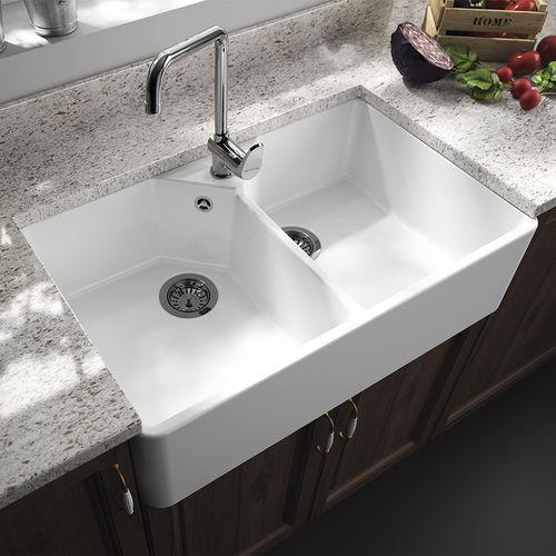 double kitchen sink farmhouse