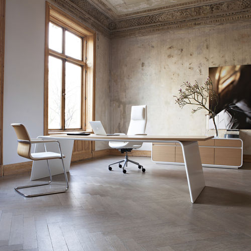 Executive desk / contemporary / wooden / for professional use SENOR KINNARPS