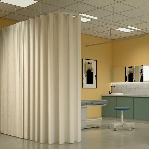 drape curtain track separe 458