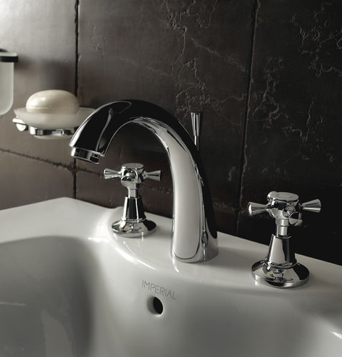Bidet double-handle mixer tap / washbasin / for showers / for bathtubs CISNE IMPERIAL BATHROOMS