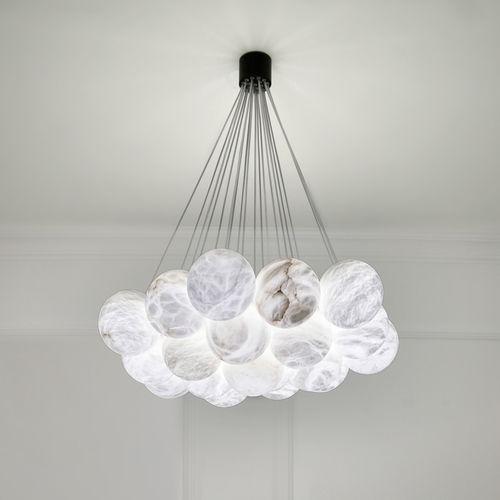 contemporary chandelier bolky