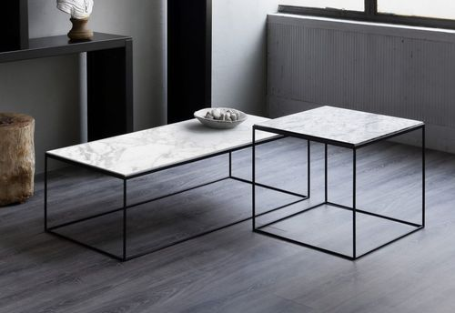 minimalist design coffee table slim