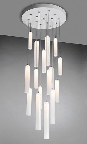 contemporary chandelier breath tube