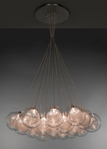 Chandelier BREATH: KADUR Shakuff - exotic glass lighting & decor
