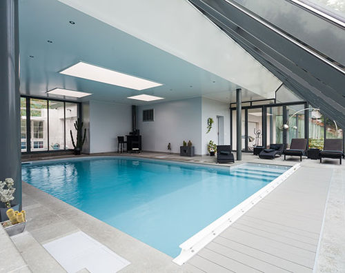 In-ground swimming pool / polymer block / concrete / interior PISCINES MAGILINE