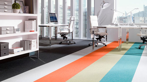Tufted carpet / synthetic / tile / loop pile TESSERA FORBO Flooring Systems