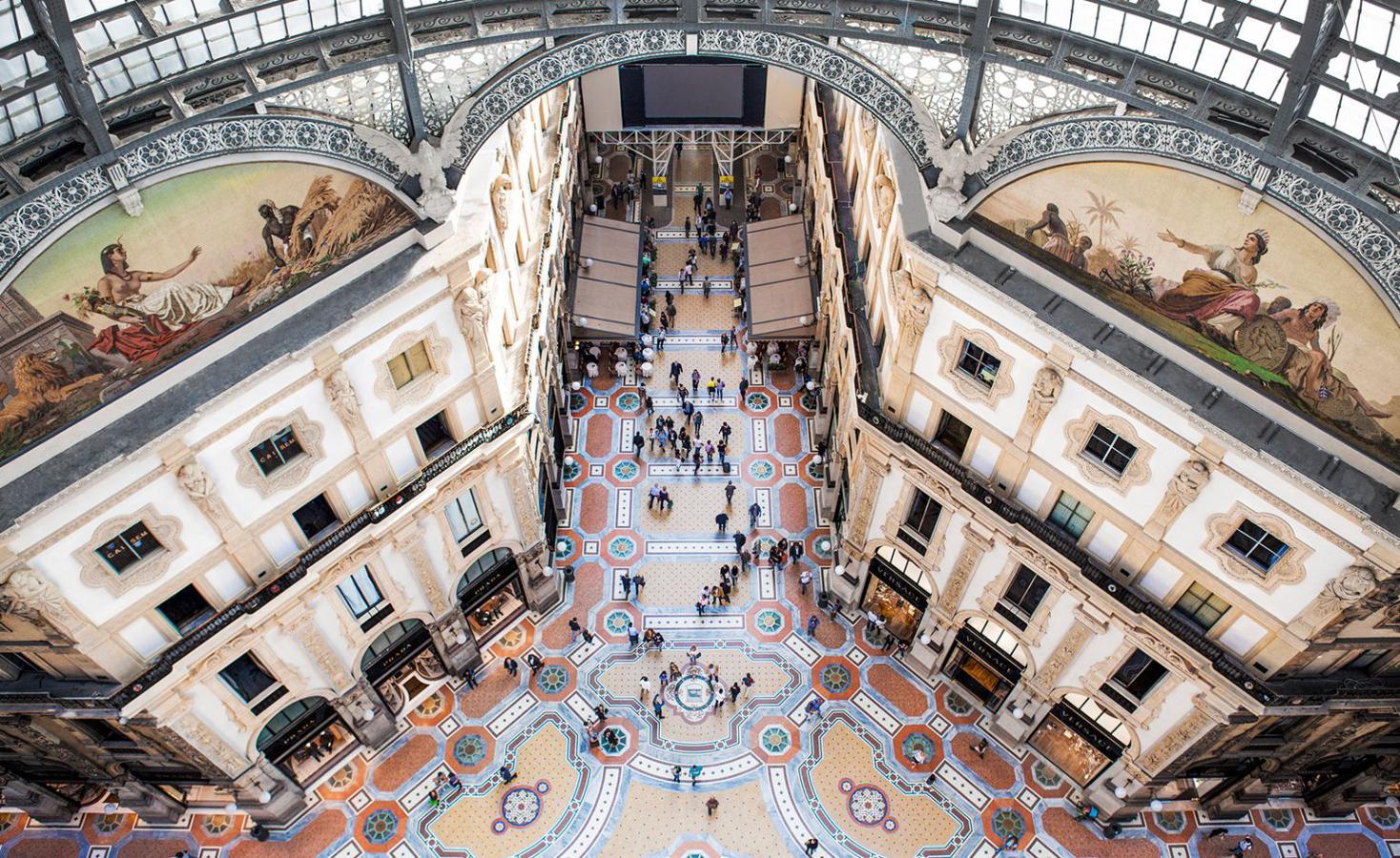 ผลการค้นหารูปภาพสำหรับ Galleria Vittorio Emanuele II