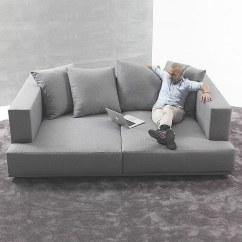 Square Sofa Beds Leather Sectional Utah Santambrogio Salotti Presents Four The For Those Seeking Relaxation