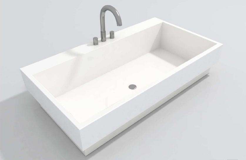 sink series 200 semi recessed