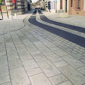 人工大理石敷石 - G158 - Girpav - 車の通れる / 公共スペース用 ...