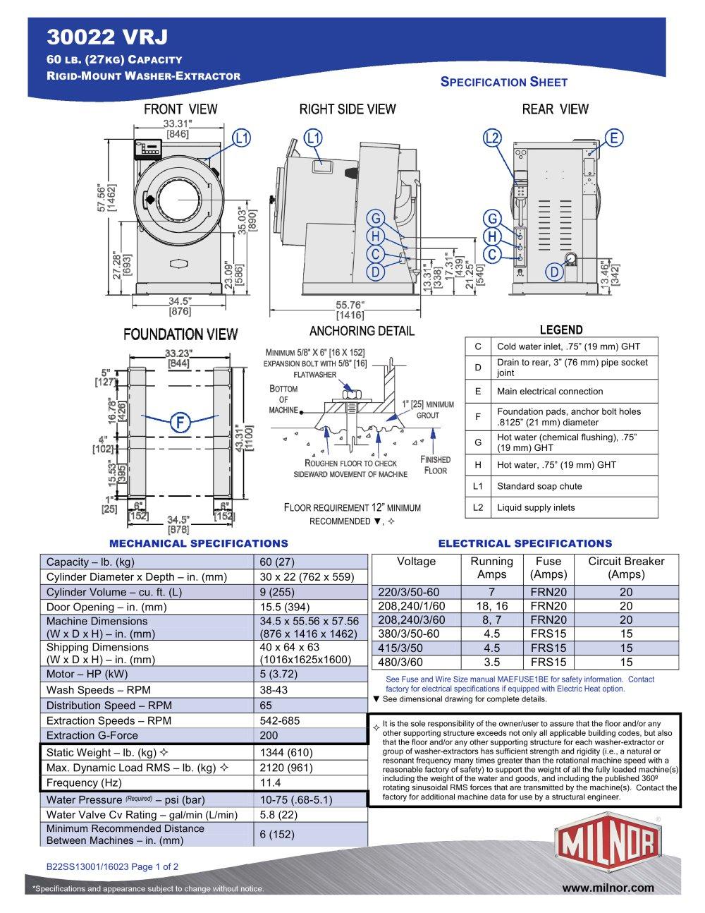 medium resolution of 30022vrj milnor pdf catalogs documentation brochures kramer wiring diagrams milnor dryer wiring diagram