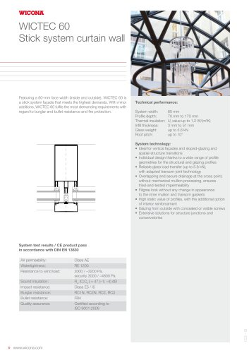 curtain wall solutions wicona pdf